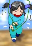 縄跳び…二重とびはおろか、前回りとびすら怪しかった私…。