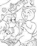 猫型宇宙人のピクニック