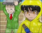 タイトルはBONNIE PINK「It's gonna rain!」より。「るろうに剣心」第5期ED。