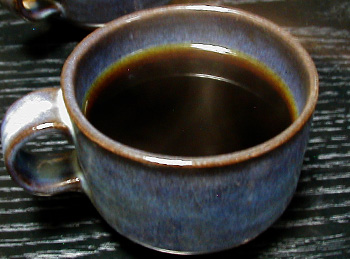 イノダコーヒー赤萩焼きマグ