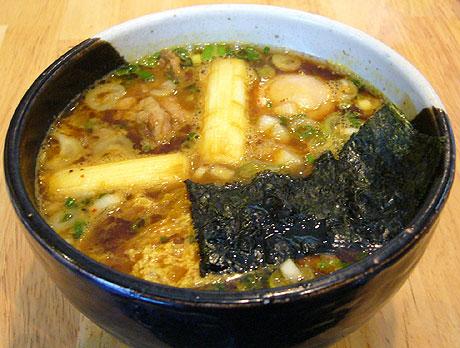 白神 カレーつけ麺汁