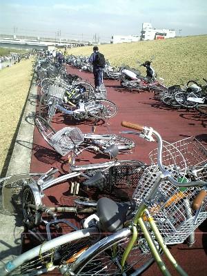 06荒川当日_自転車