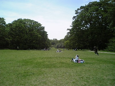 砧公園緑地