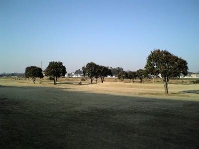 河川敷ゴルフコース