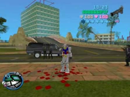 ガンダム in GTA