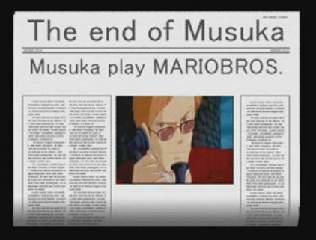 MUSUKA playing MARIO