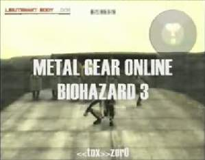 MGO Biohazard 3 Escape