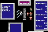 Mario's Fantasy Adventure-FF1 NES Hack