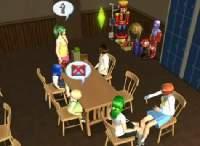 Sims2 で「ひぐらしのなく頃に」本編にできるだけ似せてみた