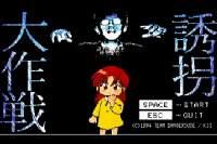 同人ゲーム「誘拐大作戦」