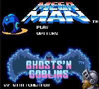 【FLASHゲーム】ロックマンが魔界村に迷い込んだようです。