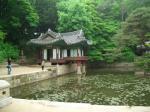 昌徳宮の庭の1つ