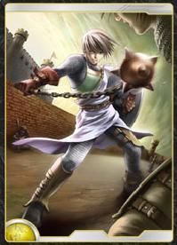 太陽王国の若き神官戦士