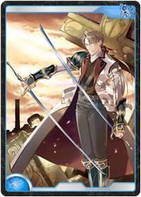 蒼き閃きの聖騎士『イベール』