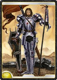 太陽王国の重装騎士