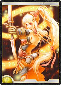 太陽王国の魔法弓