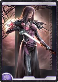 月光国の女聖騎士