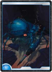 海底の猟師蟹