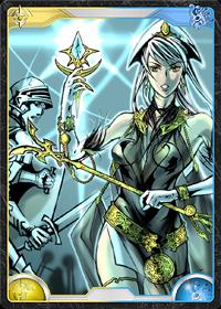 魔法護符を持つ女性-EX
