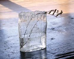 自然に溶け込むようなガラスです。