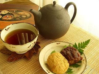 お茶にしよう♪