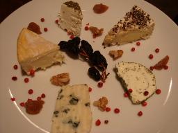 チーズ5種プレート
