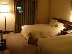 京都東急ホテル717号ベッドルーム