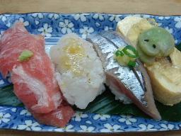 夏の大三角(カマトロ・ハモ・生サンマ・う巻き)