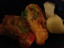 白身魚のソテー ポン酢バターソース