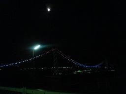 明石大橋が見えたよ