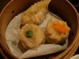 シューマイ2種・五目エビ蒸し餃子