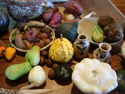 オブジェのような野菜たち