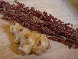 菊芋とたかきび