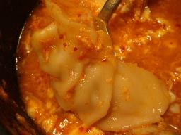 結構大きい餃子(饅頭)