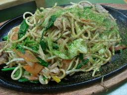 野菜そば焼き