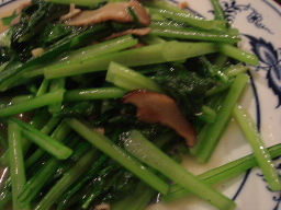 小松菜の炒め物