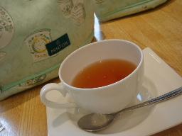 グレープフルーツの紅茶