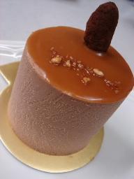 チョコとキャラメルケーキ(なかたに亭)