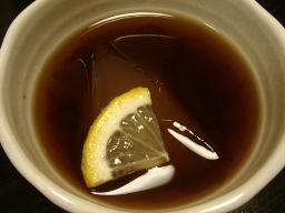 ウーロン茶ゼリー