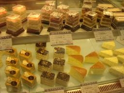 上海のケーキ