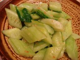 きゅうり冷菜