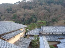 嵐山を望む(嵐亭)