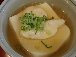 鯛と湯葉の蒸し豆腐