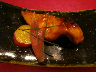 秋鮭のたれ焼き