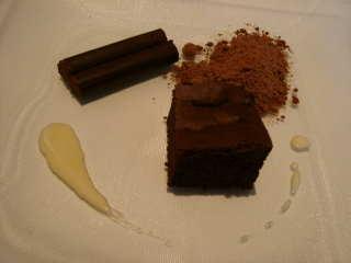 チョコレート3種盛
