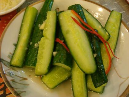 きゅうりの小菜