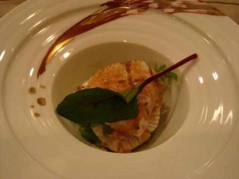 活魚の和風サラダ仕立て