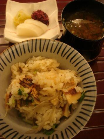 穴子ご飯2