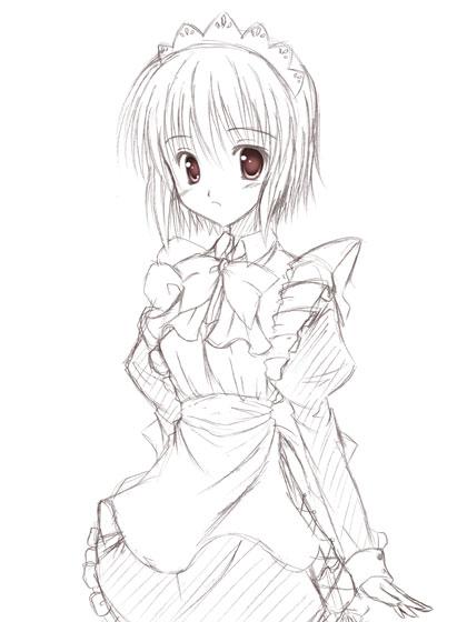 メイドさん~(*´▽`)
