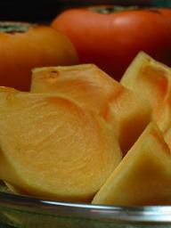 今年お初の柿